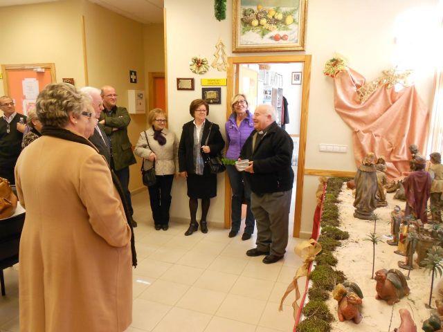 El Centro Social de Mayores de La Alberca inaugura su Belén - 1, Foto 1