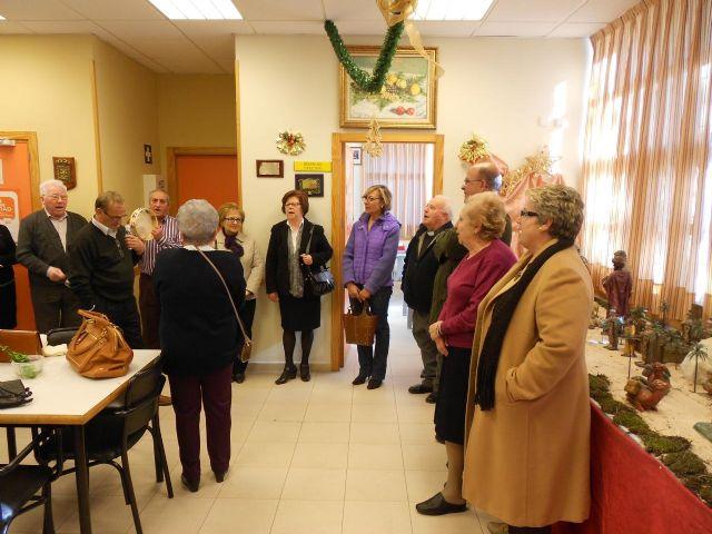 El Centro Social de Mayores de La Alberca inaugura su Belén - 2, Foto 2