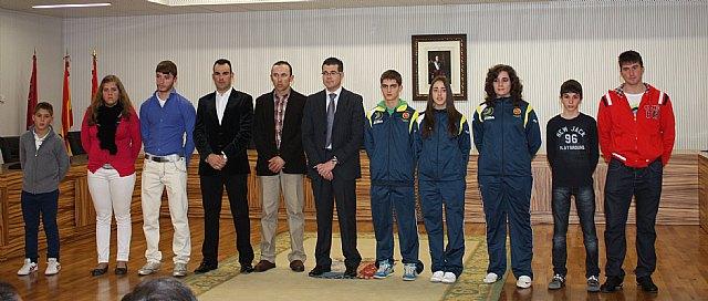 Recepción deportistas pachequeros 19/12/2012 - 1, Foto 1