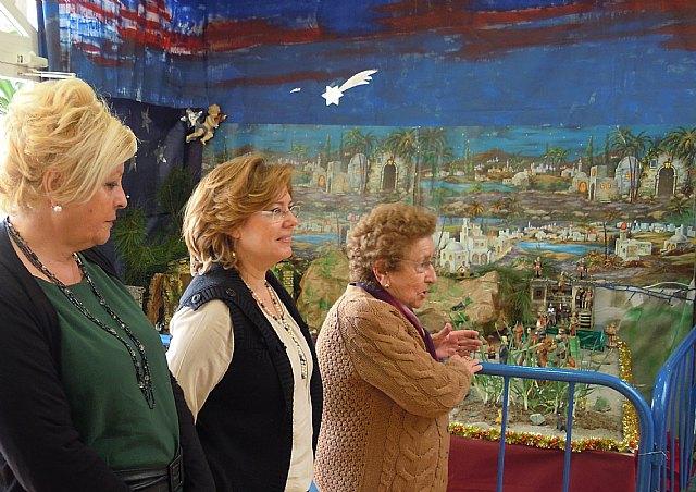 Inauguran los belenes de los Hogares del Pensionista de San Pedro y Lo Pagán - 2, Foto 2