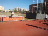 Alumnos del colego Mistral disfrutan del atletismo gracias al programa ADE