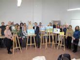 Los mayores finalizan el curso de Pintura del Baúl de la Experiencia
