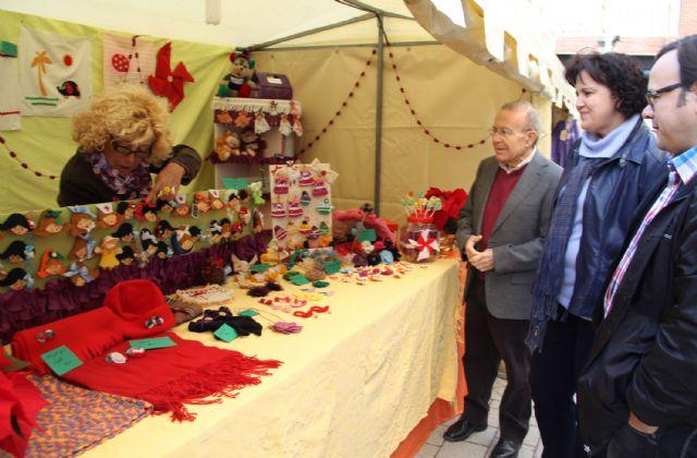 Inaugurado el Mercado Artesanal de Navidad en Puerto Lumbreras - 1, Foto 1