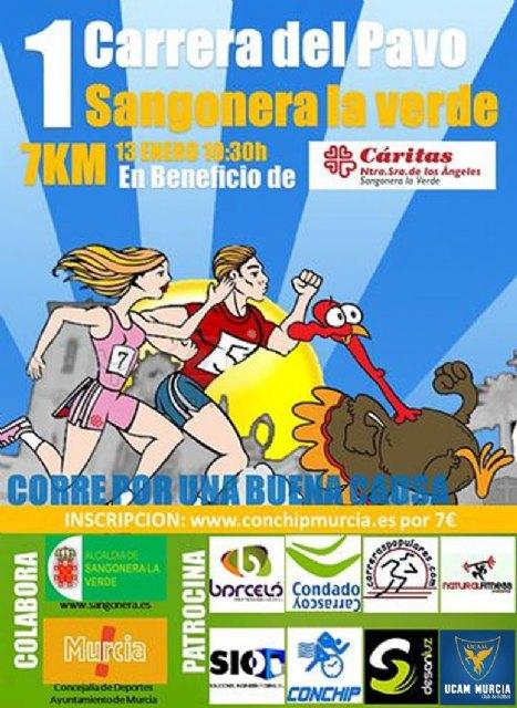 I carrera benéfica Cáritas del pavo Sangonera La Verde - 1, Foto 1