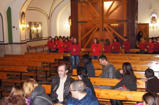 "The Choir School CEIP ""Santa Eulalia"" held a Christmas concert in the parish of ""The Three Hail Marys"", Foto 3"