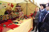 Inaugurado el Mercado Artesanal de Navidad en Puerto Lumbreras