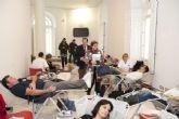 El V Maratón de sangre se salda con 55 nuevos donantes