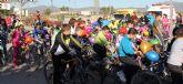 Más de 100 familias participaron en el Ciclopaseo en La Estación- Esparragal de Puerto Lumbreras