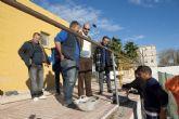 Los alumnos del programa ADLE rehabilitan zonas de La Caridad y El Algar