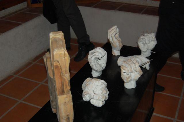 La emblemática Torre Vieja de Alguazas alberga hasta este próximo 31 de Diciembre la exposición colectiva Transbordo/Trans-gótico - 1, Foto 1
