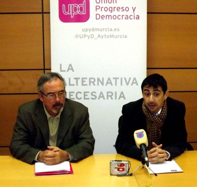 Serna destaca la independencia política de UPyD Murcia en su balance del trabajo realizado en 2012 - 1, Foto 1