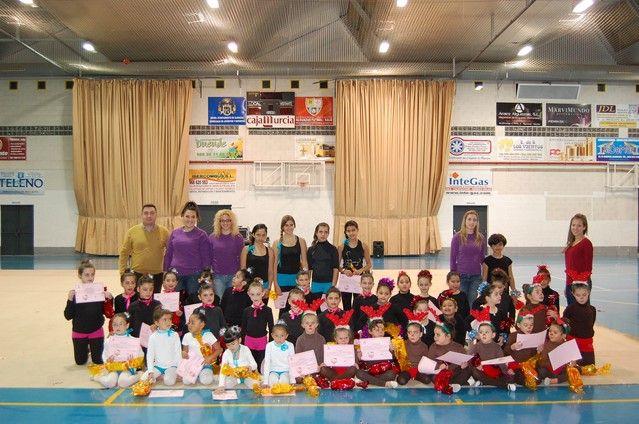 La gimnasia rítmica irrumpe con éxito en la agenda deportiva navideña de Alguazas - 2, Foto 2