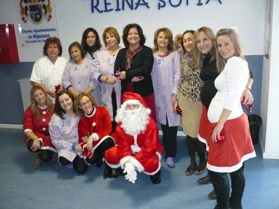 La Escuela Infantil Reina Sofía de Alguazas recibe la visita inesperada de Papá Noel - 2, Foto 2