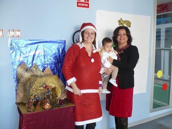 La Escuela Infantil Reina Sofía de Alguazas recibe la visita inesperada de Papá Noel - 3, Foto 3
