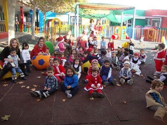 La Escuela Infantil Reina Sofía de Alguazas recibe la visita inesperada de Papá Noel - 4, Foto 4