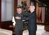 El alcalde de Águilas se reune por segunda vez en este año con el presidente Valcárcel en Murcia