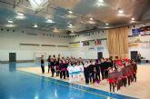 La gimnasia rítmica irrumpe con éxito en la agenda deportiva navideña de Alguazas
