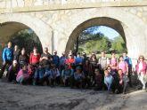 Se celebra la última salida del programa de senderismo que organiza la Concejalía de Deportes, que tiene lugar en Mula y Bullas