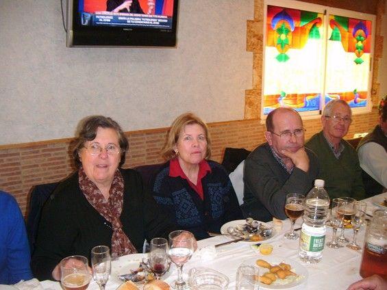 Las personas mayores de Alguazas dan la bienvenida a la Navidad con excursión y almuerzo de convivencia - 1, Foto 1