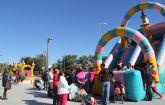 Festilandia ofrece alternativas de ocio para los más pequeños durante la Navidad en Puerto Lumbreras