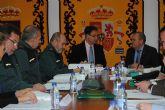 El delegado del Gobierno felicita al alcalde de Moratalla y a los cuerpos y fuerzas de seguridad por el descenso en un 23% de los índices de criminalidad