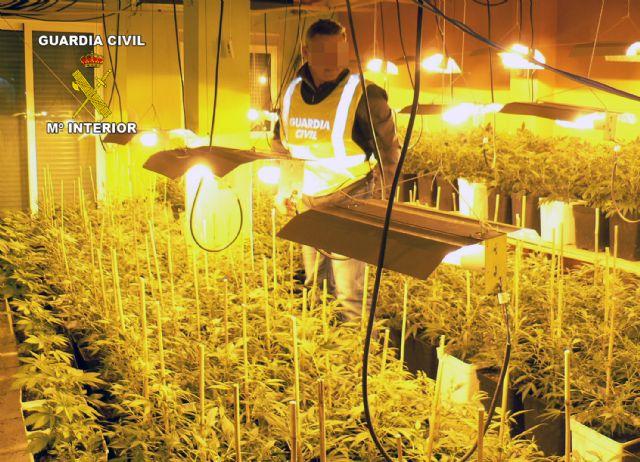 La Guardia Civil desmantela una gran plantación domiciliaria de marihuana que había dejado sin suministro eléctrico a sus vecinos - 3, Foto 3