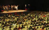 El cantaor Curro Piñana y el Tío Juan Rita participaron en el Encuentro de Cuadrillas Solidario de Navidad celebrado en Puerto Lumbreras