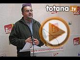 """IU Totana: """"Los Presupuestos aprobados por el PP en Totana son tramposos, desequilibrados y solo traerán más deuda, ruina y paro"""""""