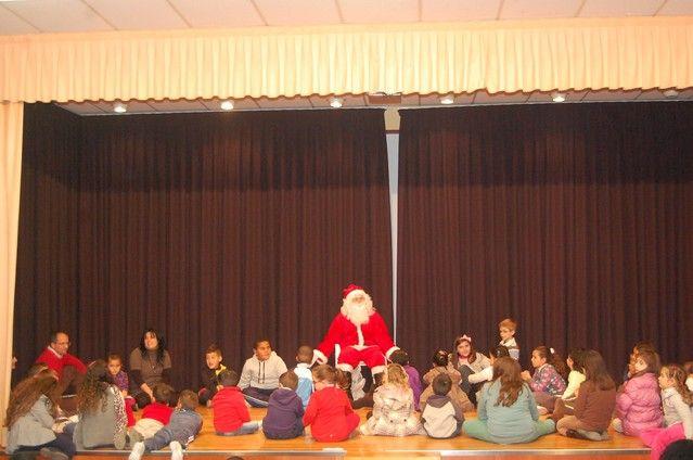 Papá Noel protagoniza el cuentacuentos navideño de Alguazas - 4, Foto 4