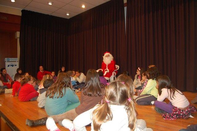 Papá Noel protagoniza el cuentacuentos navideño de Alguazas - 5, Foto 5