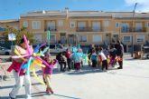 Cerca de 200 niños de Alguazas disfrutan a lo grande con los juegos en la calle