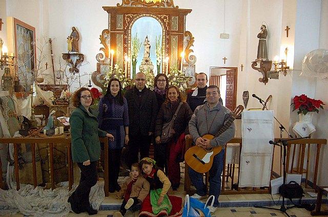 Celebraci�n de la Navidad 2012 en la Ermita de la Virgen de La Huerta de Totana, Foto 1