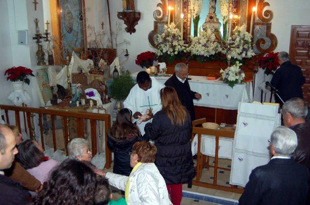 Celebración de la Navidad 2012 en la Ermita de la Virgen de La Huerta de Totana - 10