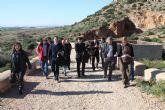 El alcalde de Torre-Pacheco y el consejero de Cultura y Turismo visitan la Sima de las Palomas y las obras del Museo de Paleontología y de la Evolución Humana