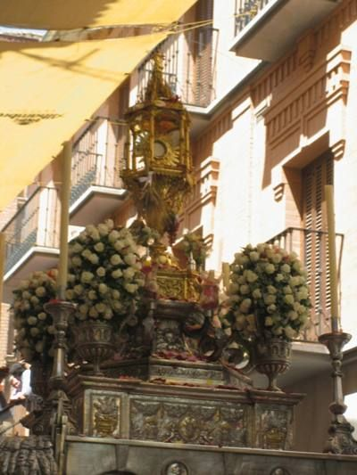 La procesión del Corpus Christi de la ciudad de Granada se hace merecedora del premio Corpus 2013 - 1, Foto 1