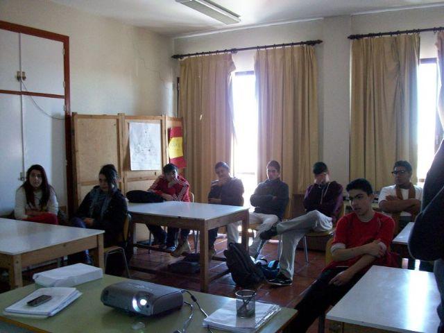 Los alumnos del Aula Ocupacional de Totana participan en diferentes actividades complementarias durante el primer trimestre del curso escolar, Foto 1