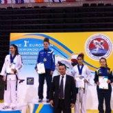 Marta Buendía Sánchez bronce en el Campeonato de Europa de taekwondo