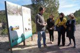 La eurodiputada murciana Cristina Guti�rrez-Cortines visita el yacimiento arg�rico de La Bastida
