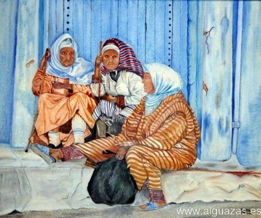 Se inaugura en Alguazas una exposición de óleo y acuarela sobre el Marruecos más pintoresco - 2, Foto 2
