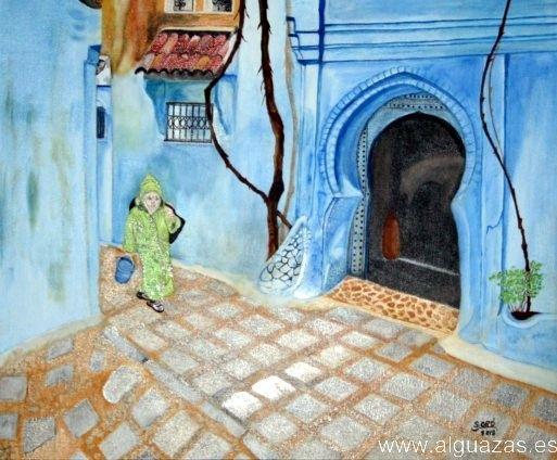 Se inaugura en Alguazas una exposición de óleo y acuarela sobre el Marruecos más pintoresco - 3, Foto 3