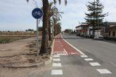 Termina la construcción del carril bici en Los Olmos