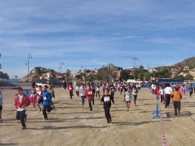 600 niñ@s y jóvenes participan en la carrera de cross de deporte escolar, Foto 1