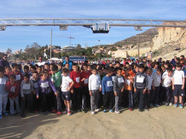 600 niñ@s y jóvenes participan en la carrera de cross de deporte escolar, Foto 2