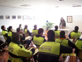 Toda la plantilla de la Policía Local participa en un curso de sensibilizacion en materia de violencia de genero