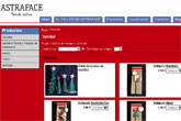 """Astrapace ya dispone de tienda online, desarrollada con """"Superweb"""", de Totana.com"""