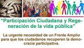 El Centro Cultural y Obrero organiza la charla coloquio: 'Participación Ciudadana y Regeneración de la vida Pública'