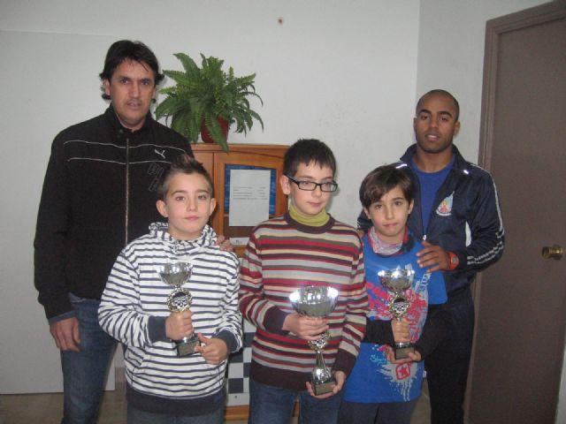 Juan Francisco Morales se impone en la fase municipal de ajedrez de Deporte Escolar, Foto 2