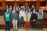 El Ayuntamiento de Molina de Segura recibe la visita del profesorado de varios centros españoles que participan en el Proyecto ARCE con el colegio San Antonio