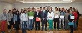 Reconocimiento a los alumnos del CIFEA por su colaboración en la creación del primer pulmón urbano de Torre-Pacheco