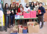 Los alumnos del IES Rambla de Nogalte crean un Banco Solidario de Alimentos coincidiendo con la celebración de Santo Tomás de Aquino